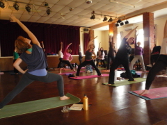 Southampton Yoga Association session